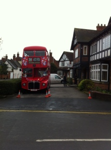 Big Red at Coleshill Town Hall