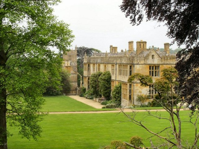 Stanway House - from the gardens