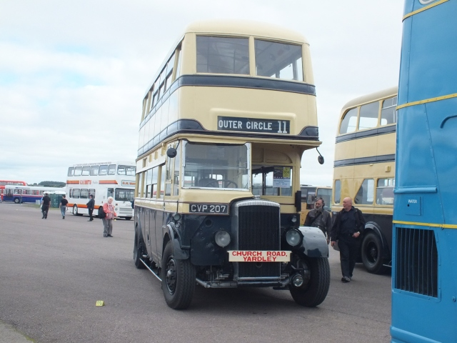 1107 (Daimler COG5) at Showbus on 22nd of August 2013 [Keith Thursfield]