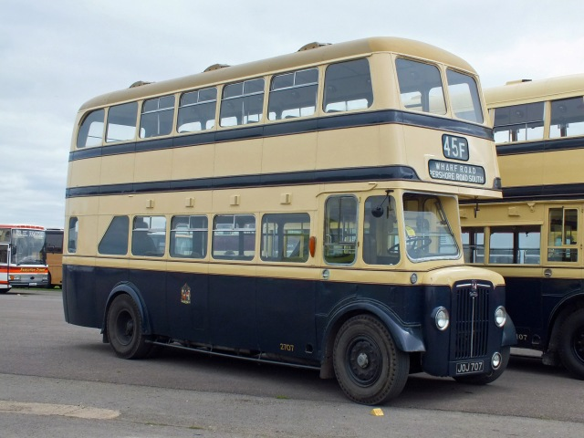2707 at Showbus on 22nd August 2013 [Keith Thursfield]