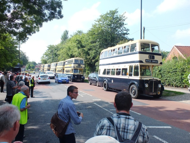 2976 & others at Cole Bank Road - Sarehole Mill 26th August 2013 [Keith Thursfield]