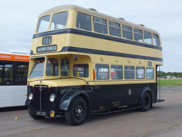 3225 at Showbus on 22nd August 2013 [Keith Thursfield]