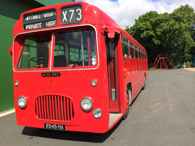 5545 waiting for us at Wythall