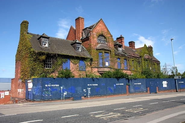 The Birmingham Battery and Metal Company offices - Bristol Road, Selly Oak before demolition. [Bob-Embleton]