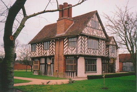 Blakesley Hall built by Richard Smalbrooke. He was a hardware merchant in Birmingham and Smallbrook Street (now Queensway) was named after him. He had family connections with the Colmores & Greswolds and owned much land in Yardley. The Merry family, a local paint and varnish manufacturer were the last of a long line of families to occupy the hall. Blakesley Hall then became a museum in 1935. An adjacent barn (Grade II listed) to the east of the hall has been renovated and provides space for exhibitions and functions.