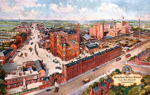 Cape Hill Brewery. Mitchells & Butlers Brewery was formed when Henry Mitchell's old Crown Brewery (founded in Smethwick in 1866) merged with William Butler's Brewery (also founded in Smethwick in 1866) in 1898. Henry Mitchell had moved to the Cape Hill site in 1879 and this became the company's main brewing site.