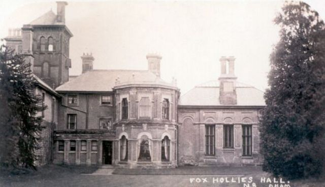Fox Hollies Hall c1900