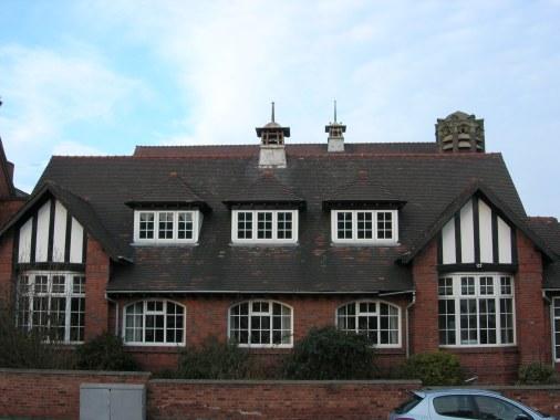 Glynn Edwards Hall, Acocks Green still standing in September 2015.