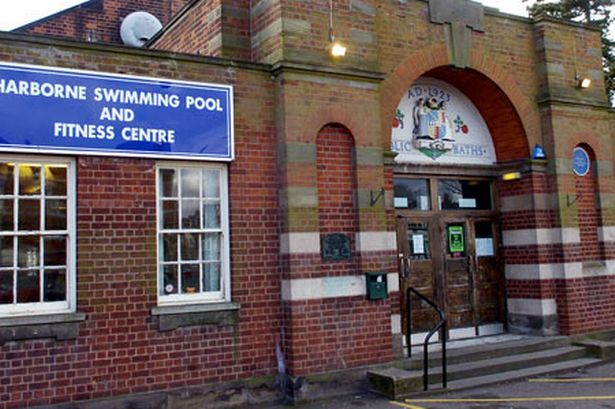 The original Harborne Swimming pool opened in December 1923