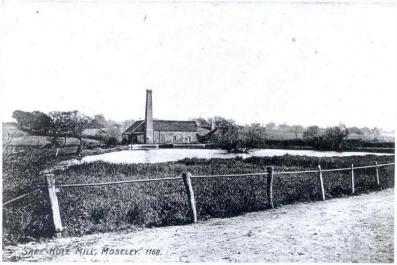 Sarehole Mill - View from Wake Green Road 1905