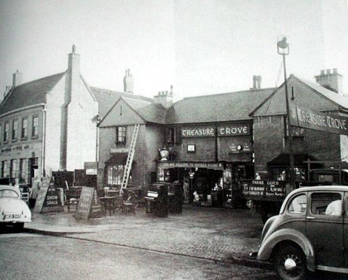 The Treasure Trove on Pershore Road in Cotteridge close to the tram depot.