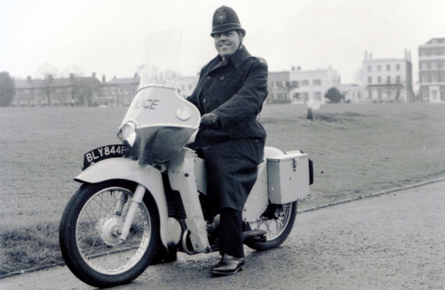 "The LE became Velocette's best selling model. It saw widespread adoption by police forces for urban patrol. At the time policemen on foot patrol were required to salute sergeants and inspectors. With the introduction of the LE this became dangerous, requiring the officer to take his hand off the handle bars, and so the rider was allowed to show respect with a smart nod. It has been suggested that this is how the LE became known as ""Noddy Bikes"". However, Noddy (the popular cartoon character created by Enid Blyton) who famously had frequent run-ins with the Policeman Mr Plod, is also credited with being the origin."
